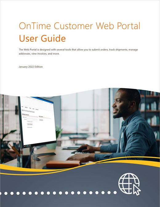 OnTime Customer Web Portal User Guide