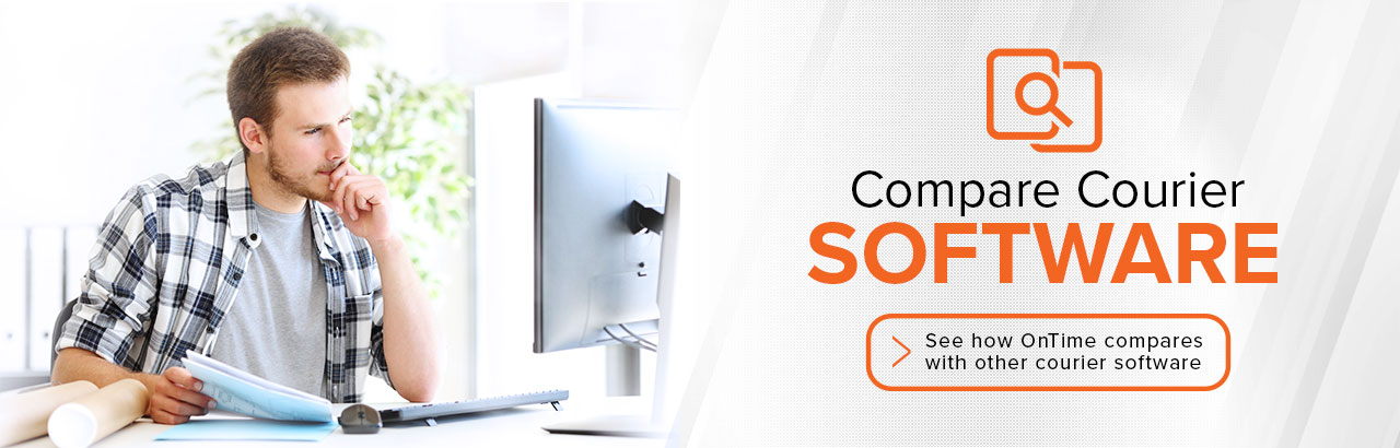 Compare courier software and dispatch software.
